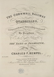 Cornwall Railway Quadrilles part 01